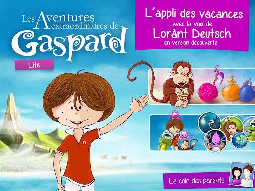 Gaspard : les Aventures.. Lite