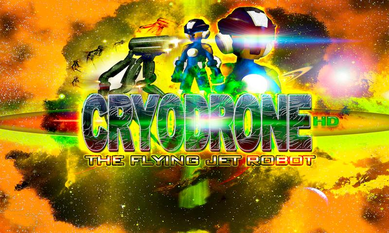 CRYODRONE:The Flying Jet Robot - screenshot