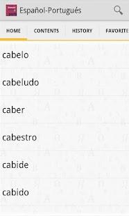 VOX Portuguese<>Spanish - screenshot thumbnail