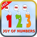Kids Learn Numbers Game logo