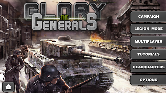 Glory of Generals- screenshot thumbnail