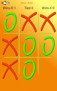 TicTacToe Challenge - náhled