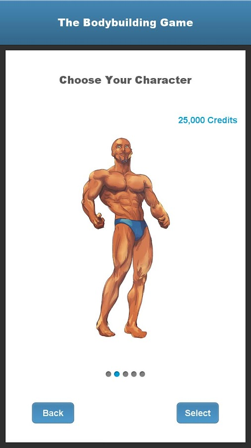 The Bodybuilding Game - screenshot