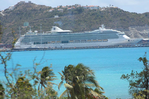 serenade-of-seas-st-maarten - Royal Caribbean's Serenade of the Seas in St. Maarten.