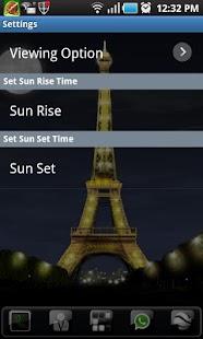 Paris LWP - Eiffel Tower- screenshot thumbnail