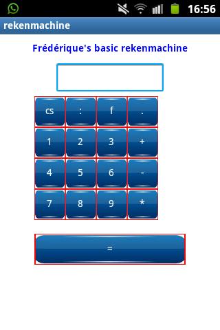 Frederique's basic calculator
