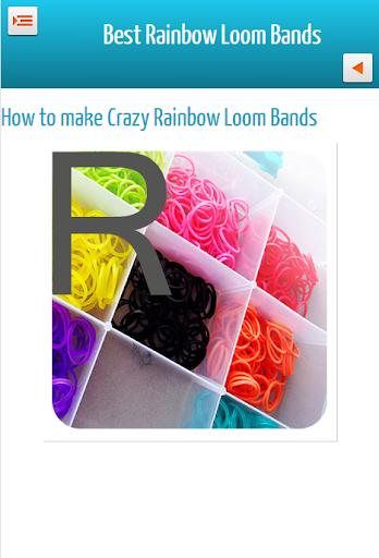 Best Latest Rainbow Loom Bands