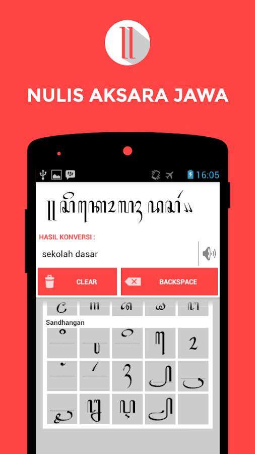 Nulis Aksara Jawa - Android Apps on Google Play