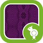 Go Locker Snake Skin Purple icon