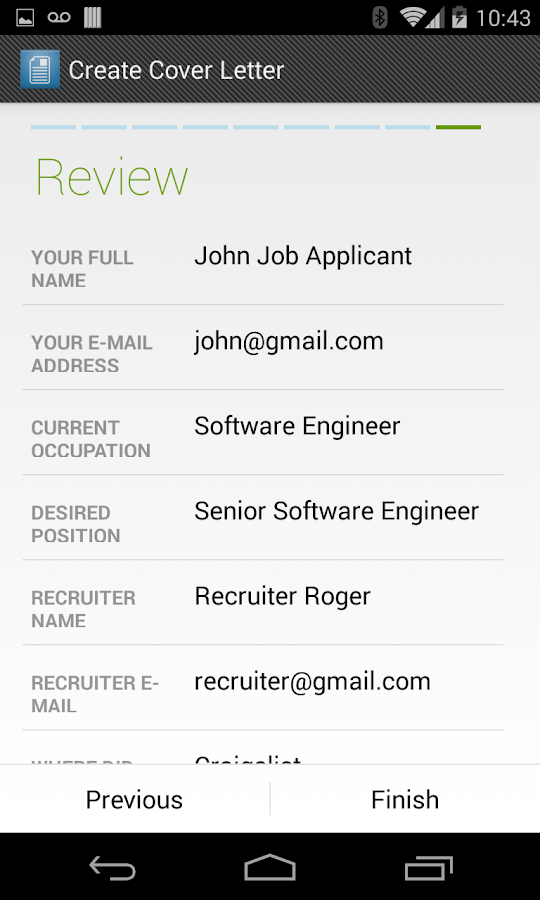 Cover Letter Maker Android Apps on Google Play