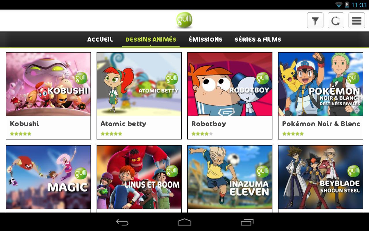 gulli l appli des enfants applications android sur google play. Black Bedroom Furniture Sets. Home Design Ideas