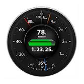 Speedometer Battery Android APK Download Free By JalapenoIT