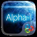 Alpha-I GO Launcher Theme icon