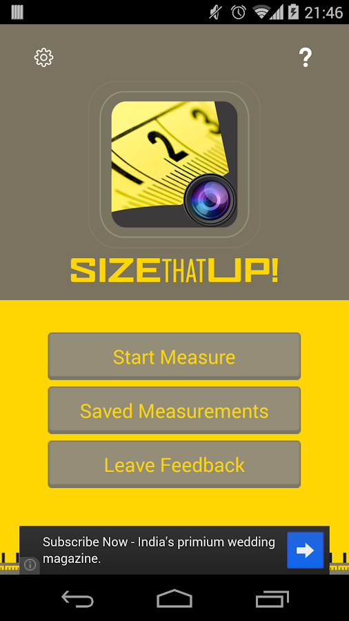 Size That Up- screenshot