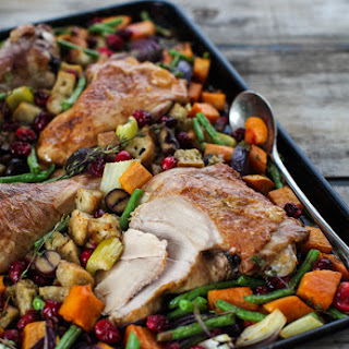 Sheet Pan Turkey Dinner Recipe