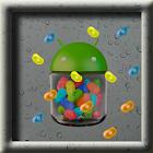 Jelly Beans Rain LWP icon