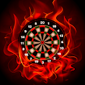 Fire Darts Score icon