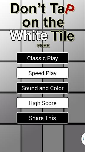 Don't Tap the White Tile FREE