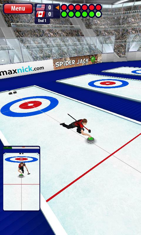 Curling3D- screenshot
