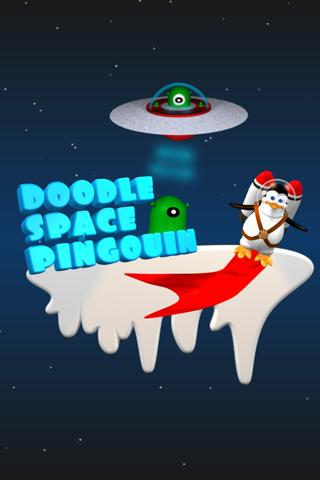 Doodle Space Pingouin- screenshot