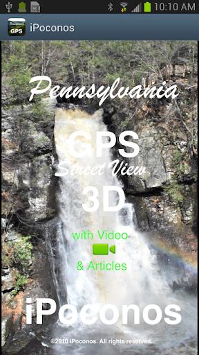 Poconos GPS Street View 3D