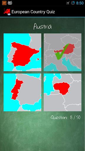 European Country Quiz