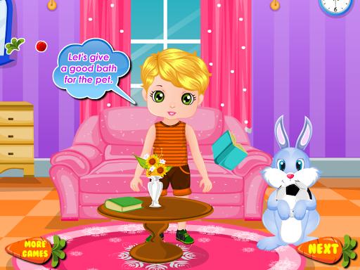 兔兔照顧女生遊戲