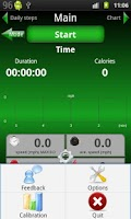 Screenshot of Pedometer 2.0