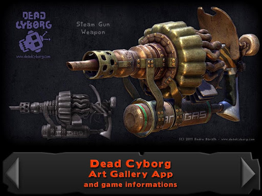 Dead Cyborg Art Gallery