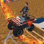 Extreme ATV stunt Arena 3D