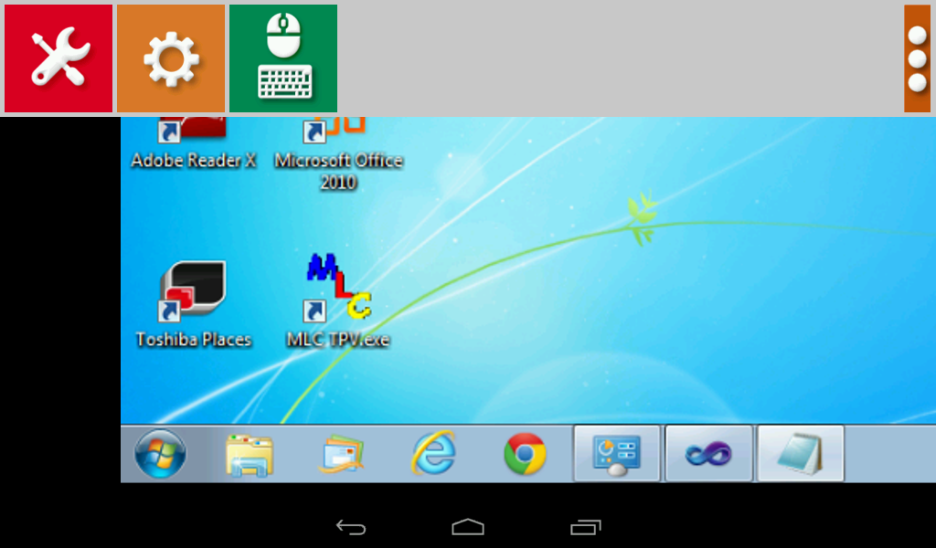 Screen to Android Lite - screenshot