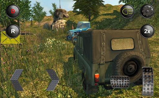 4×4越野車的俄羅斯越野