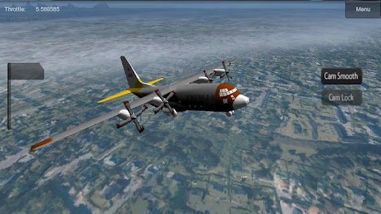 Flight Simulator 3D - screenshot thumbnail
