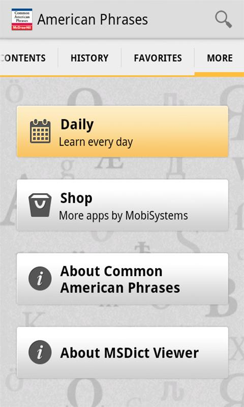 Common American Phrases - screenshot