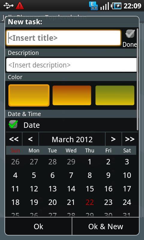 Jelly Planner - screenshot