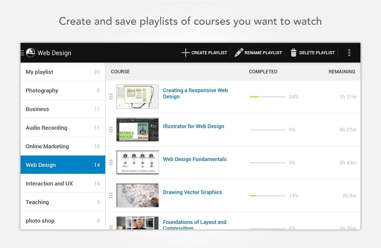 lynda.com - screenshot