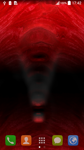 红色动态壁纸