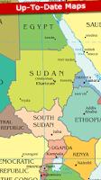 Screenshot of World Map 2015 FREE