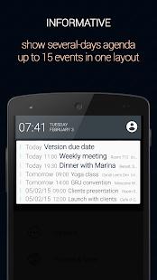 Calendar Status Pro - náhled