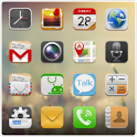 QQLauncher:iPhone Style Theme icon