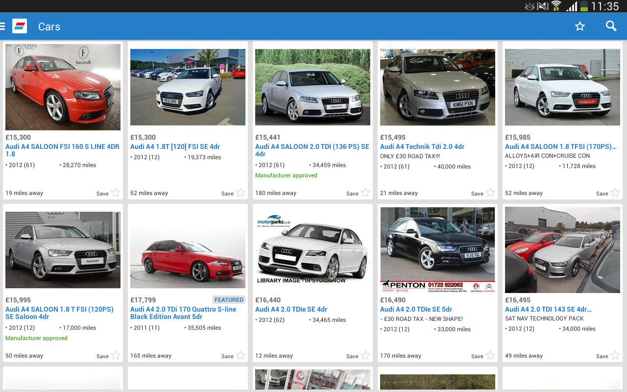 Auto Trader - screenshot