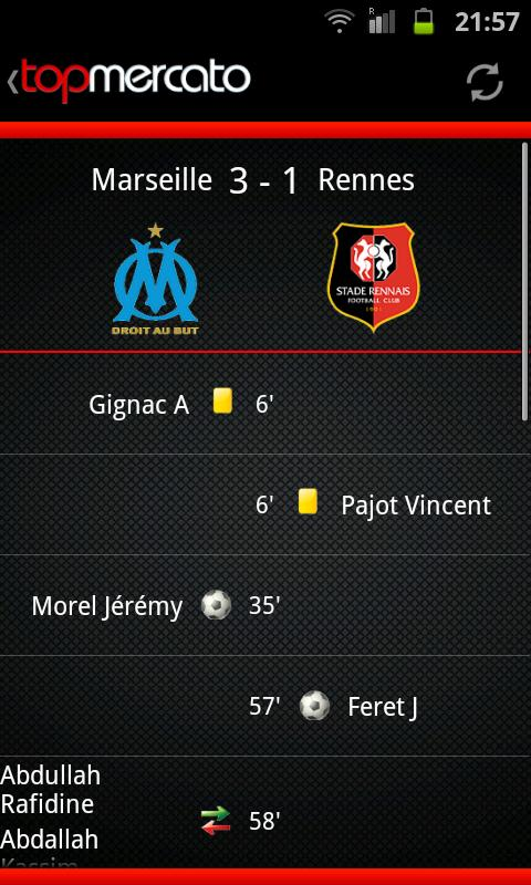 Top Mercato : actu foot- screenshot