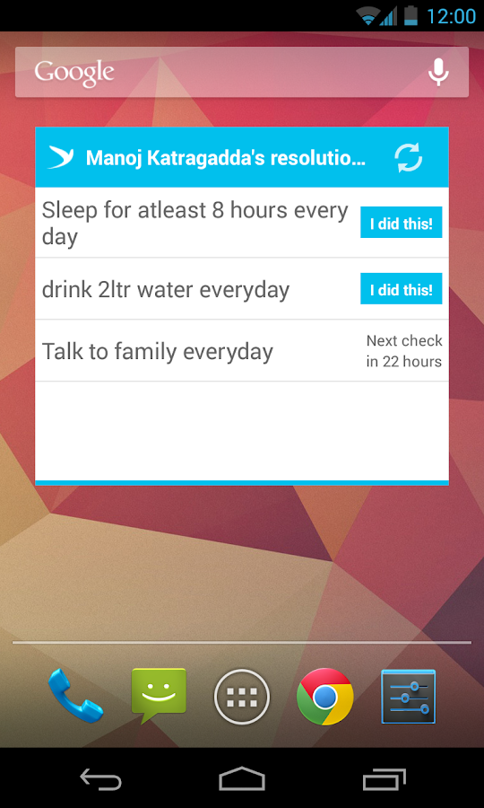 ResolutionTweet - screenshot