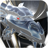 ICON PACK silver dragon