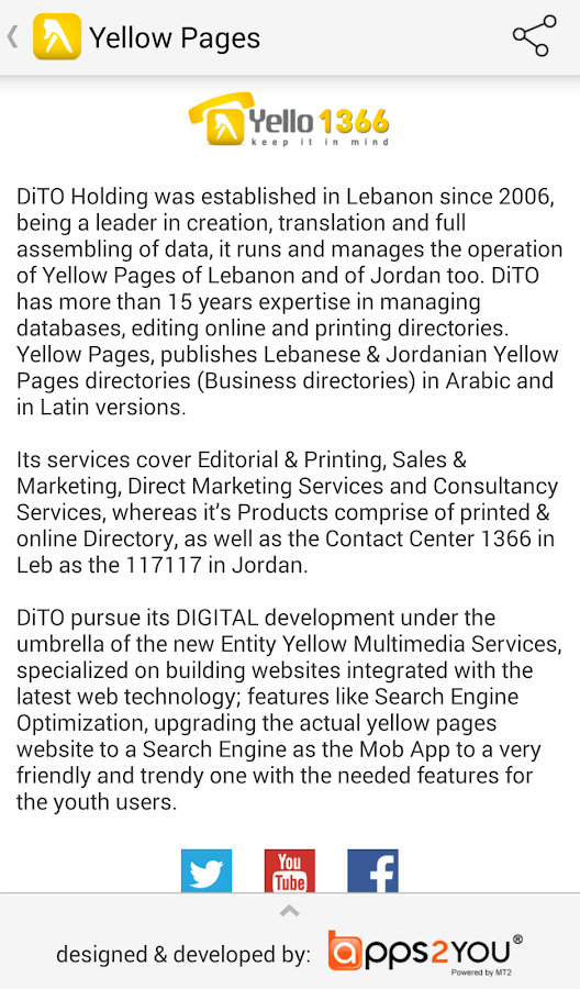 Yellow Pages Lebanon- screenshot