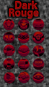 Dark Rouge Icon Pack screenshot 1