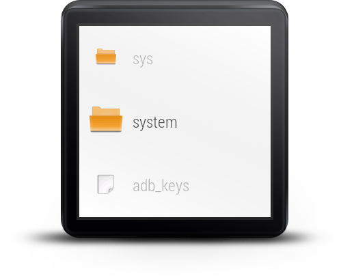 File Manager For Android Wear