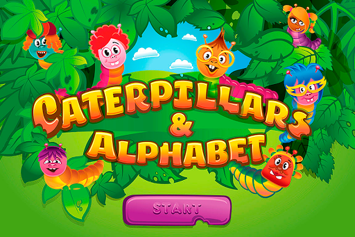 Caterpillars and Alphabet ABC