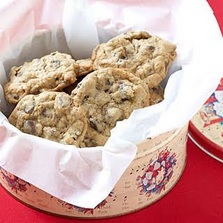 Oatmeal-Raisin Chocolate Chip Cookies.