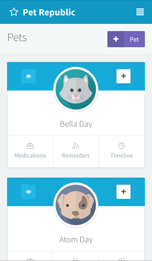 Pet Medication Reminders App